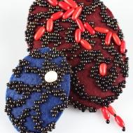 Medusa blue (klein) & Medusa red (groß)